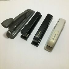 Lot Of 4 Vintage Staplers Working Condition