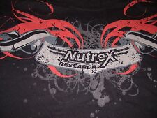 Nutrex Research Sports Nutrition Supplements Body Building T Shirt Large Fitness