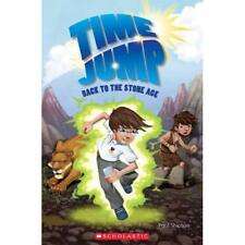 Time Jump: Back to the Stone Age (Popcorn Readers) - Paperback NEW Paul Shipton