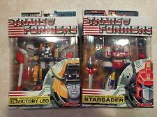 Transformers Mega SCF Victory Saber Figure Set Victory Leo Starsaber