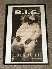 Original Vintage THE NOTORIOUS BIG Ready To Die Promo Poster Bad Boy Records