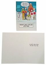 Hallmark Disney Star Wars Christmas Cards Box of 16 Cards with Envelopes