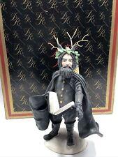 "Black Peter History of Santa Duncan Royale Figure 12"" Rare Ltd Ed"