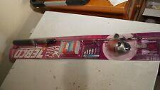 New listing Zebco Pink 202 Reel & Fishing Rod Combo 2-Piece Rod Quickset Anti-Reverse New