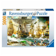 Ravensburger Battle on the High Sea 5000 Piece Jigsaw Puzzle NEW