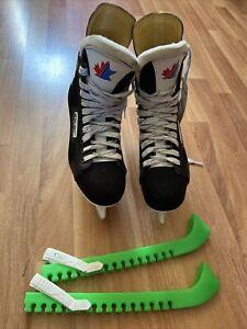 Bauer Ice skate shoes SIZE 7 UK or 40 EU Black