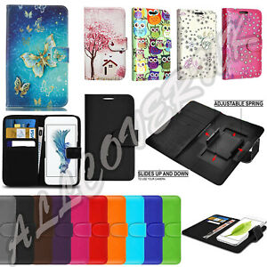 New Luxury Stand Universal Leather Cover Wallet Case for Xiaomi Series Phones