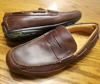 Sperry Top Sider Mens Gold Cup Driving Loafers Shoes Brown Slip-On Moc Toe 10 M
