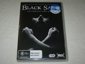 Black Sails - Complete Season 1 - 3 Disc - VGC - Region 4 - DVD