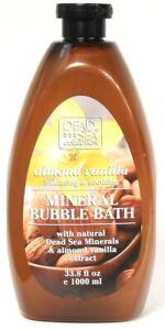 1 Ct Dead Sea Collection 33.8 Oz Almond Vanilla Balancing Mineral Bubble Bath