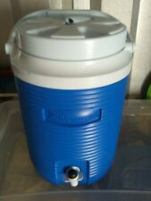 New listing Ice Water Cooler Jug 2 Gallon Large Thermos Insulated Outdoor Camping Sport.
