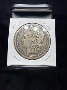 1890 CC Morgan Silver Dollar- No Reserve