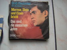 "7"" DRAFI DEUTSCHER AND HIS MAGICS MARMOR STEIN UND EISEN BRICHT N/MINT DECCA"
