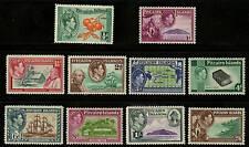 Pitcairn Islands  1940-51  Scott # 1-8  MLH Set