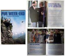 PUR WEEK-END - K.Merad - B.Solo  - FRENCH PRESSBOOK