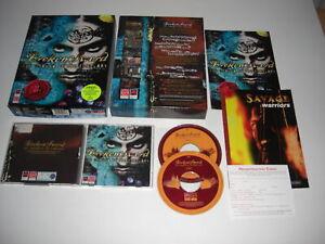 BROKEN SWORD 1 The Shadow Of The Templars Pc Cd Rom Original BIG BOX - FAST POST