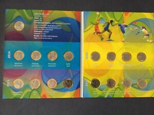 Album and Coins Brazil Olympic Games Rio 2016 Collection