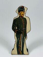 Kings Royal Rifle Corps #10 Vintage Marx Toy Lithograph Tin Army Litho Figure