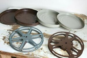 Lot of Film Reels / Cans