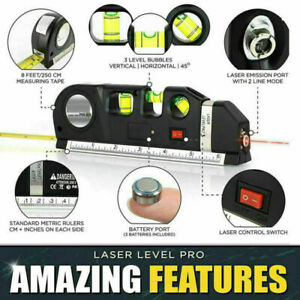 Laser Level Self Levelling Cross Balance Line Leveling Wall Measuring Tool New