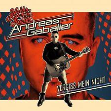 ANDREAS GABALIER - VERGISS MEIN NICHT   CD NEU