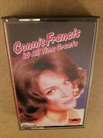 Connie Francis : 20 All Time Greats : Vintage Cassette Tape Album from 1977