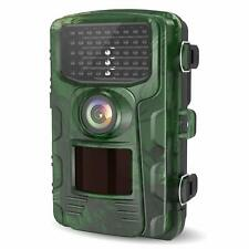 LETSCOM Trail Game Camera 14MP IP65 Waterproof Wildlife Scouting Hunting Cams