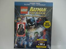 LEGO Batman: Movie - DC Super Heroes Unite (Blu-ray, 2013, 2-Disc) NEW w/lego
