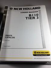 New Holland B110 Loader Backhoe Tier 3 Parts Catalog Manual