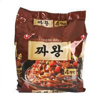 Korean Instant Black Bean Sauce Noodle NONGSHIM JJAWANG 4pack Set