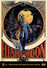 Flesh Gordon Jason Williams Suzanne Fields Joseph Hudgins Comedy Film DVD Reg 4