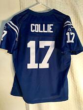 Reebok Women's Premier Nfl Jersey Indianapolis Colts Austin Collie Blue sz Xl