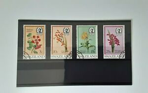 Swaziland 1971 - Flowers set of 4 used stamps SG184-187