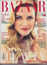 HARPER'S BAZAAR MAGAZINE UK JANUARY 2015, WILD AT HEART REESE WITHERSPOON.