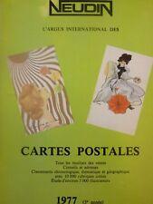 Catalogue Neudin 1977, l'argus international des cartes postales