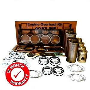 ENGINE OVERHAUL KIT FOR NUFFIELD 10/60 384 4/60 4/65 WITH BMC 3.8T/TA/TD ENGINE