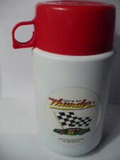 """Vintage """"Days Of Thunder"""" #51 Movie Plastic Thermose Only 1990 Tom Cruise"""