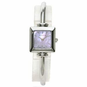GUCCI Square face Watches 1900L Stainless Steel/Stainless Steel Ladies