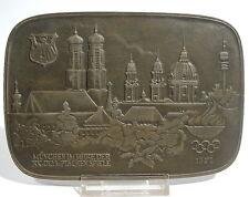 Buderus arte fundición plaquita Eberhard volker mootz 1972 juegos olímpicos munich
