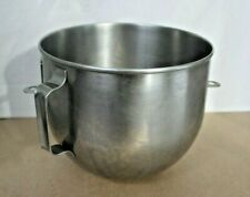 Used 5 Quart Stainless Steel Bowl For Hobart Kitchenaid Commercial Mixer