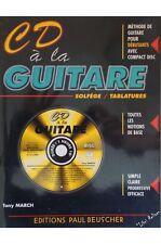 March, Tony - CD a la guitare - sans CD