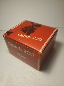Vintage D.A.M. Quick 220 Spinning Fishing Reel Made N West Germany New Old Stock