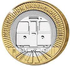 2013 £2 LONDON UNDERGROUND TRAIN 150YRS TWO POUND COIN HUNT 25/32 RARE 2 b