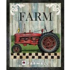 Sykel Enterprises Farmall Tractor 10210 X Hometown Life Panel Cotton Fabric
