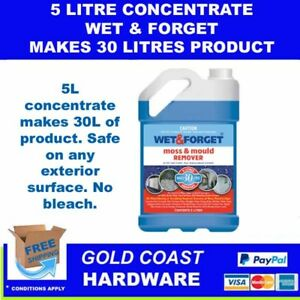 Wet & Forget 5L - Makes 30L - Wet and Forget