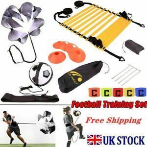 Speed Agility Ladder Cone Bag Football Training SkillEquipment Sports Set UK