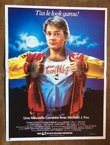 Affiche  CINEMA      TEEN WOLF    de   1985     Michael J. Fox