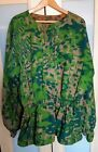 REPRODUCTION WAFFEN-SS PALM TREE PATTERN REVERSABLE SMOCK SIZE: EXTRA LARGE