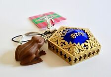 Harry Potter Universal Studios Japan Honey Dukes Scented Chocolate Frog Keychain