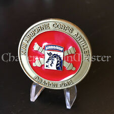 C35 18th XVIII Airborne Corps Artillery Command Sergeant Major Challenge Coin
